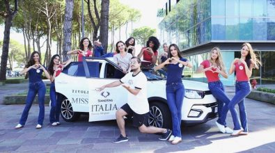 Ssangyong con Miss Italia 2018
